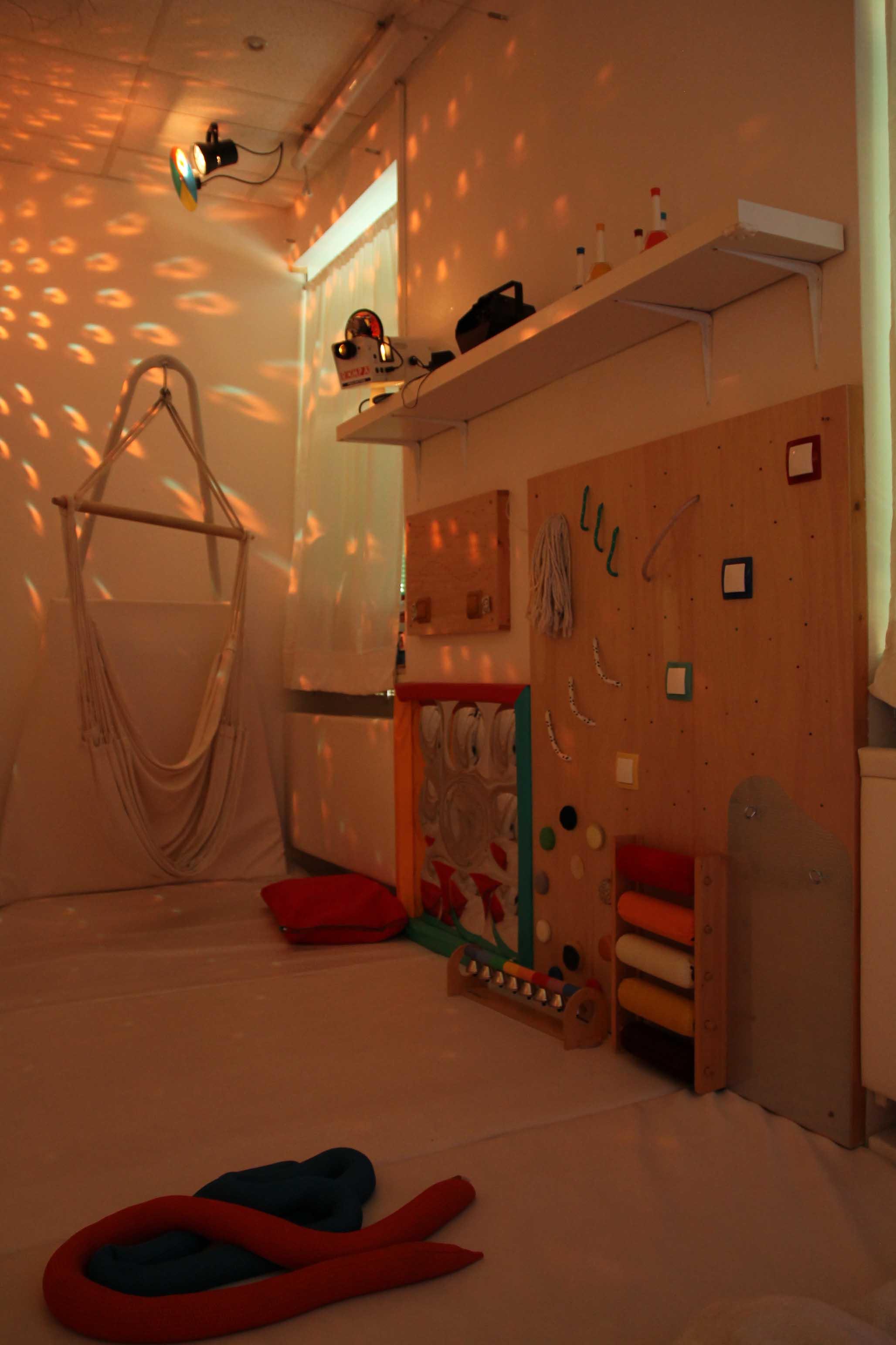 Snoezelen Autistické centrum Andreas Bratislava