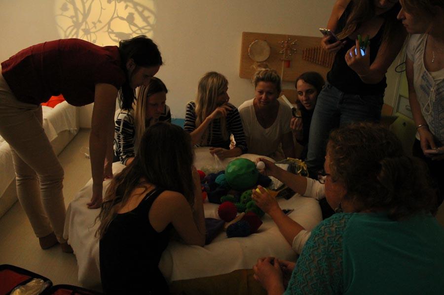 Školení Snoezelen - práca v multisenzorické místnosti